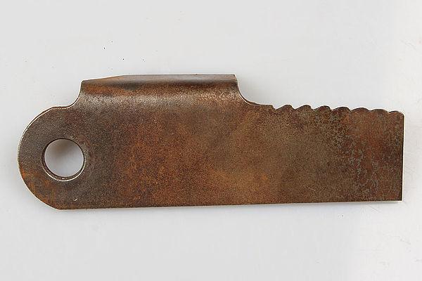 Radura Schlegelmesser gewinkelt, gezahnt, einseitig